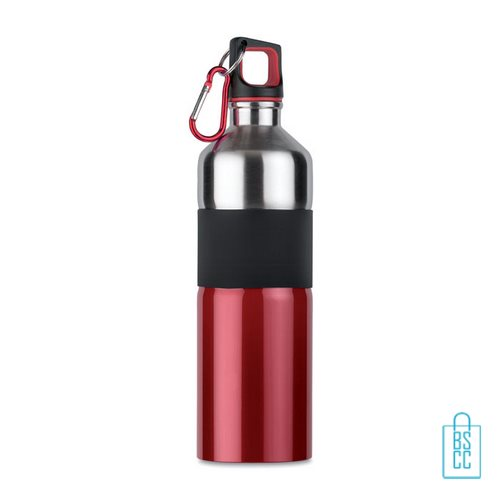Luxe thermosfles 750ml blauw rood