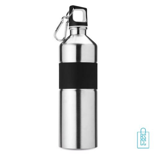 Luxe thermosfles 750ml zilver