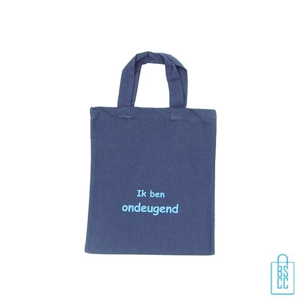 Stoffen Tassen Laten Bedrukken : Katoenen tas klein tassen bedrukken per stuk