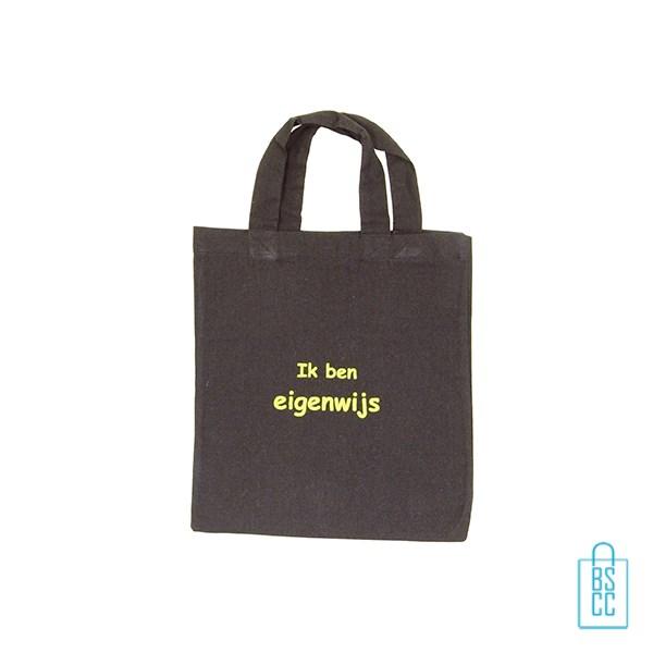 Rieten Tas Bedrukken : Katoenen tas klein tassen bedrukken per stuk