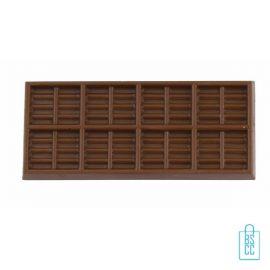 Chocoladereep bedrukken, chocola bedrukken