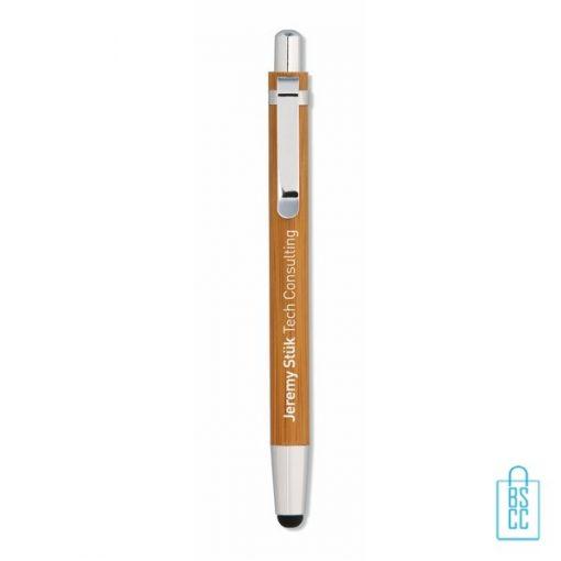 bamboe pennen bedrukken, eco pennen bedrukken, duurzame pennen bedrukken, papieren pennen bedrukken