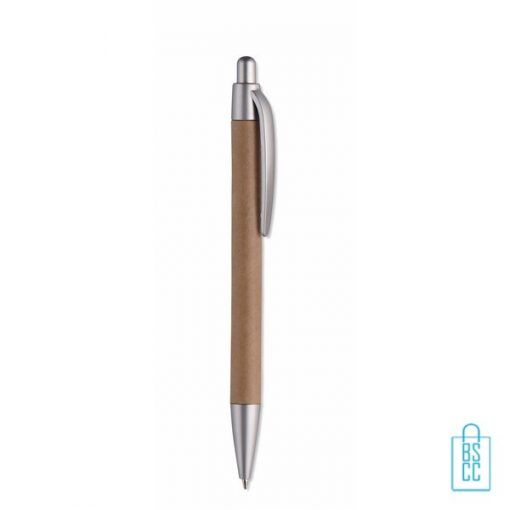 eco pennen bedrukken, duurzame pennen bedrukken, papieren pennen bedrukken