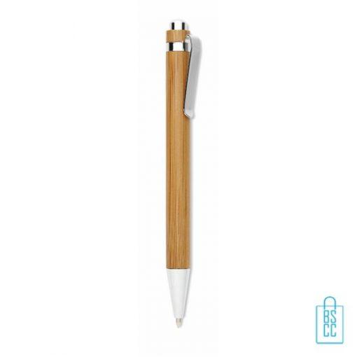 eco pennen bedrukken, bamboe pennen bedrukken, duurzame pennen bedrukken