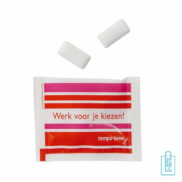 Snoep zakjes kauwgom bedrukken vanaf 0 10 per stuk for Bedrukte zakjes
