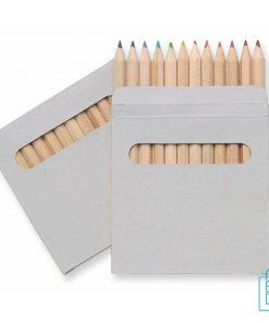 Kleurpotloden bedrukken, kleurpotloden bedrukt, bedrukte kleurpotloden, kleurpotloden met logo, kleurpotloden met opdruk