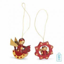kerstboomhangers bedrukken, kerstboomhangers bedrukt, bedrukte kerstboomhangers met logo, goedkoop