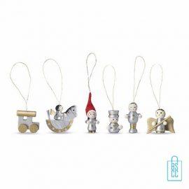 houten kerstboomhangers bedrukken, bedrukte kerstboomhanger, goedkope kerstgeschenken bedrukken, kerstgeschenk met logo