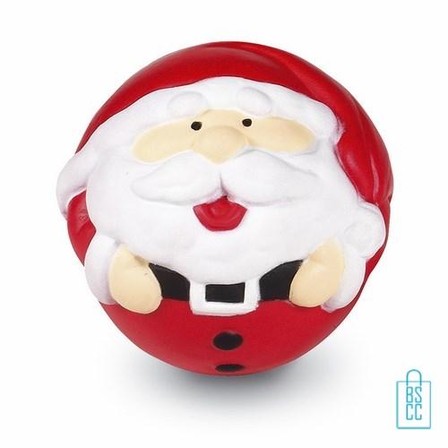 Kerst stressbal bedrukken, stressballen bedrukken, goedkope kerstgeschenken bedrukken, bedrukt kerstgeschenk