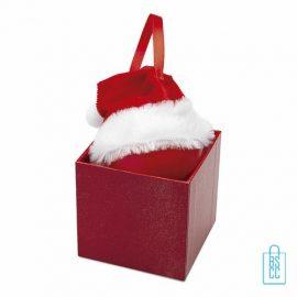 kerstmuts bedrukken, kerstmuts bedrukt, bedrukte kerstmuts met logo