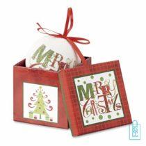 kerstbal bedrukken, kerstbal bedrukt, bedrukte kerstbal met logo, kerstballen, parelmoer
