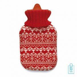 warmte kruik bedrukken, warmte kruik bedrukt, bedrukte warmte kruik met logo, design, kerstgeschenken bedrukken