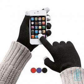 Smartphone handschoenen bedrukken, telefoon accessoires bedrukken, telefoon gadgets bedrukken, goedkope relatiegeschenken bedrukken