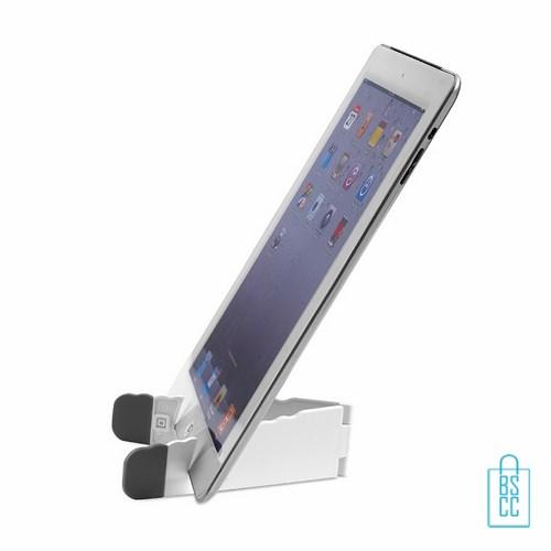 Telefoon tablet houder bedrukken met logo, telefoon accessoires bedrukken, telefoon gadgets bedrukken, goedkope relatiegeschenken bedrukken