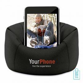 Telefoonstandaard mini zitzak bedrukken goedkoopste, telefoon accessoires bedrukken, telefoon gadgets bedrukken, goedkope relatiegeschenken bedrukken