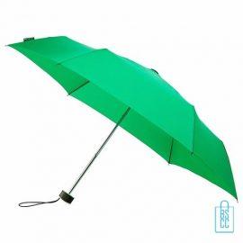 Opvouwbare paraplu bedrukken, LGF-214, kleine paraplu bedrukken, bedrukte opvouwbare paraplu, goedkope paraplu groen