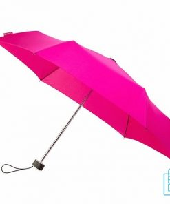 Opvouwbare paraplu bedrukken, LGF-214, kleine paraplu bedrukken, bedrukte opvouwbare paraplu, goedkope paraplu roze
