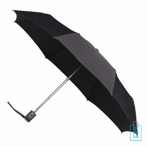 Opvouwbare paraplu bedrukken, LGF-214, kleine paraplu bedrukken, bedrukte opvouwbare paraplu, goedkope paraplu zwart