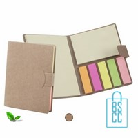 memoblokje bedrukken, memoblok met logo, post it boekje bedrukken, sticky notes bedrukt