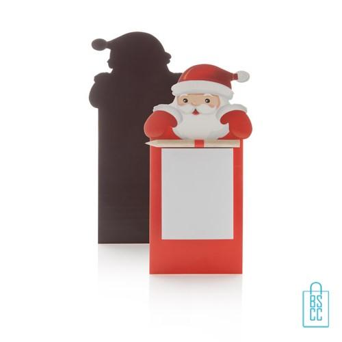 Kerst notitieblokje bedrukken, goedkope kerstgeschenken bedrukken, bedrukte kerstgeschenken met logo