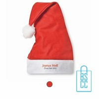 kerstmuts bedrukken, kerstmuts bedrukt, bedrukte kerstmuts met logo, kerstgeschenken bedrukken