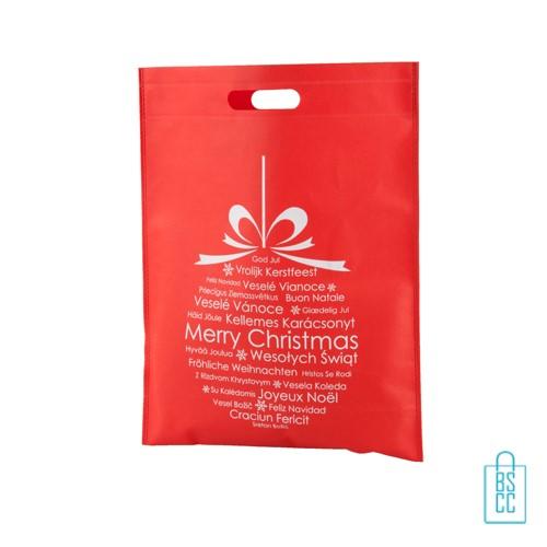 Non woven tas kerstbal bedrukken, cadeautasjes kerst bedrukken, kerst draagtasjes bedrukken, bedrukte cadeautasjes kerst bedrukken, goedkope kerst tasjes bestellen,