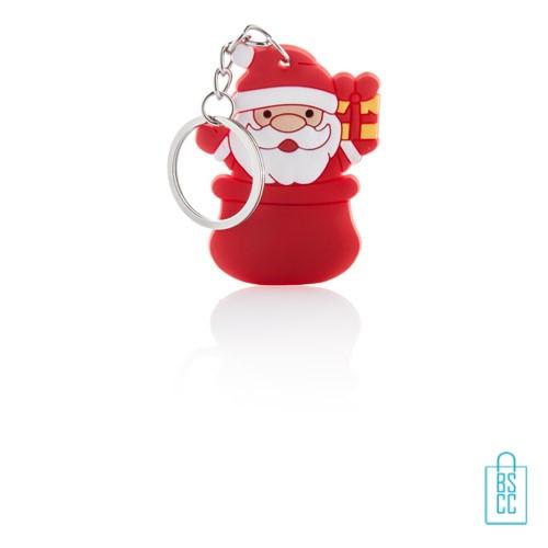 Sleutelhanger kerstman bedrukken, goedkope kerstgeschenken bedrukken, bedrukte kerstgeschenken met logo