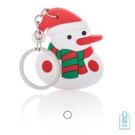 Sneeuwpop sleutelhanger bedrukken, kerstgeschenken bedrukken, bedrukte kerstgeschenken met logo