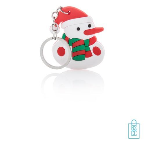 Sneeuwpop sleutelhanger bedrukken, kerstgeschenken bedrukken, bedrukte kerstgeschenken met logo, goedkope kerstgeschenken