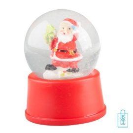 Sneeuwbol kerstman bedrukken, sneeuwbol bedrukt, bedrukte sneeuwbol met logo