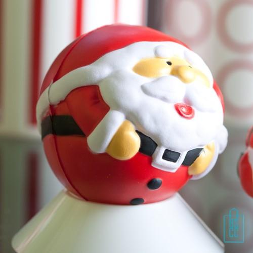 stressballen kerstman bedrukken, stressballen bedrukt, stressballen met logo, goedkope kerstgeschenken
