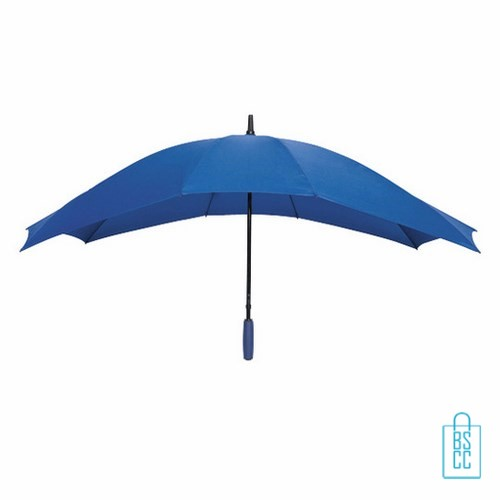 Duo Paraplu bedrukken TW-3 Blauw, duo paraplu bedrukt, duo paraplu met logo, TW-2,TW-3