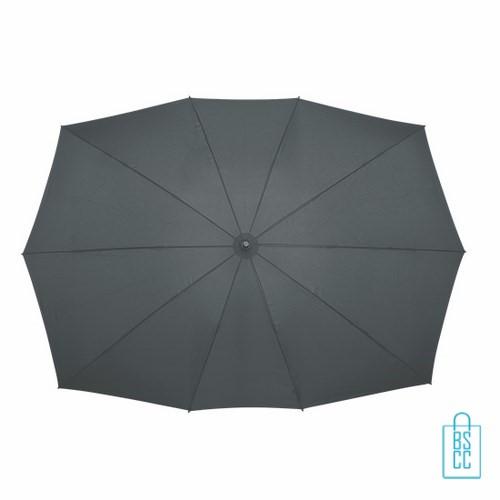 Duo Paraplu bedrukken TW-3 Grijs top, duo paraplu bedrukt, duo paraplu met logo, TW-2,TW-3