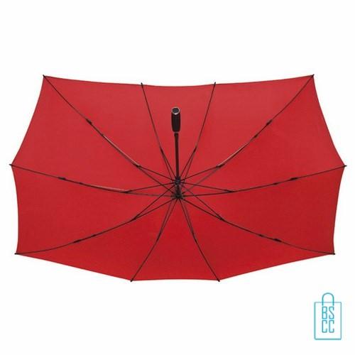 Duo Paraplu bedrukken TW-3 Rood, duo paraplu bedrukt, duo paraplu met logo, TW-2,TW-3