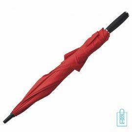 Duo Paraplu bedrukken TW-3 Rood opgevouwen , duo paraplu bedrukt, duo paraplu met logo, TW-2,TW-3