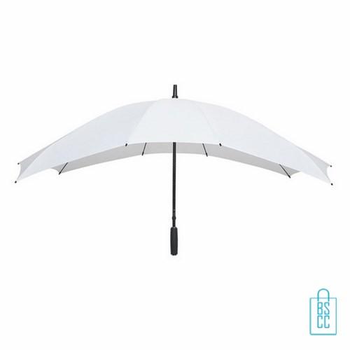 Duo Paraplu bedrukken TW-3 Wit , duo paraplu bedrukt, duo paraplu met logo, TW-2,TW-3