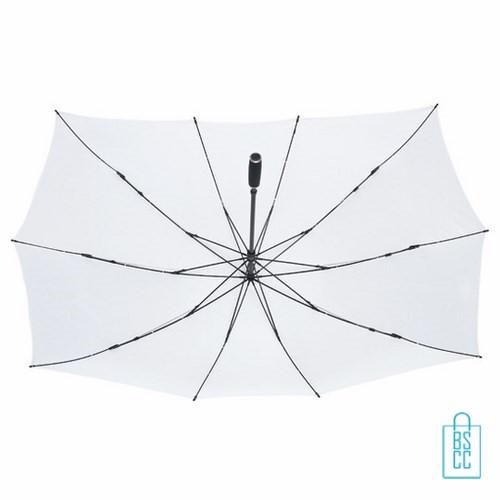 Duo Paraplu bedrukken TW-3 Wit onderkant , duo paraplu bedrukt, duo paraplu met logo, TW-2,TW-3