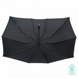 Duo Paraplu bedrukken TW-3 Zwart onderkant , duo paraplu bedrukt, duo paraplu met logo, TW-2,TW-3