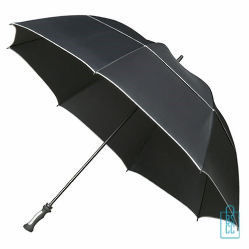 GP-80, Golfparaplu bedrukken, golf paraplu bedrukt, golf paraplu met logo