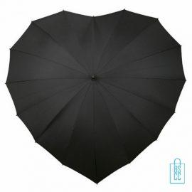 hartvorm paraplu bedrukken, hartjesparaplu bedrukt, valentijns cadeau bedrukken, hart paraplu bedrukken, LR-8