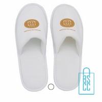Hotel slippers bedrukken, hotel slippers met logo, bedrukte hotelslippers