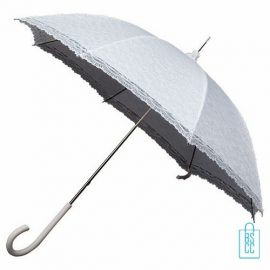 LR-1,retroparaplu, Luxe paraplu bedrukt, luxe paraplu met logo, stevige paraplu bedrukken, bruidsparaplu, trouw paraplu