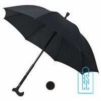 Paraplu bedrukken, Wandelparaplu bedrukken, wandelparaplu bedrukt, wandelparaplu met logo, WS-01, luxe paraplu bedrukken