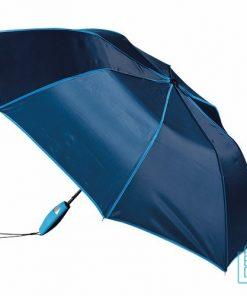 Opvouwbare paraplu bedrukken, LF-170, blauw, opgevouwen