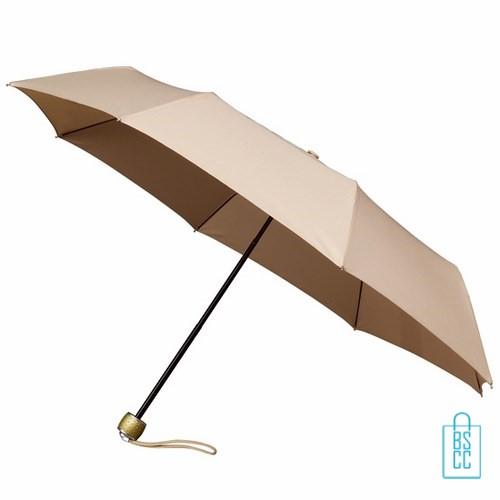 Opvouwbare paraplu bedrukken LGF-202 Beige