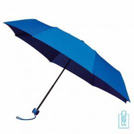 Opvouwbare paraplu bedrukken LGF-202 Blauw
