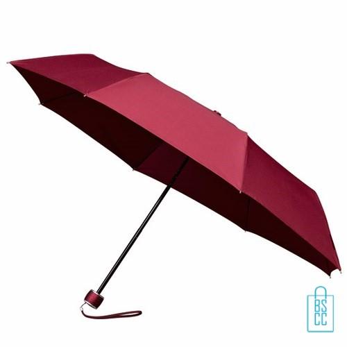 Opvouwbare paraplu bedrukken LGF-202 Bordeaux