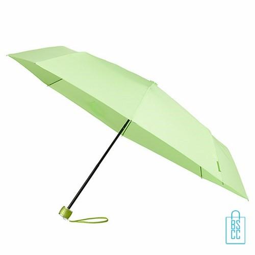 Opvouwbare paraplu bedrukken LGF-202 LichtGroen