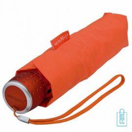 Opvouwbare paraplu bedrukken LGF-202 Oranje opgevouwen