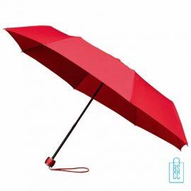 Opvouwbare paraplu bedrukken LGF-202 Rood
